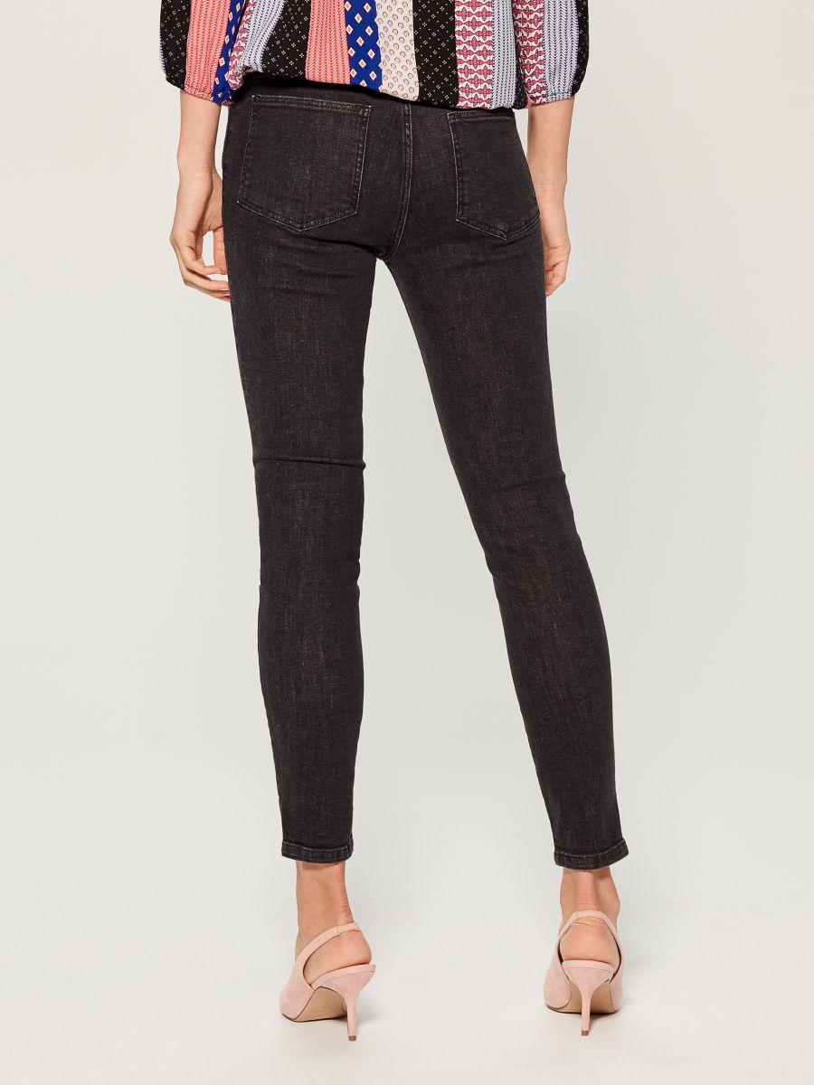 Skinny fit jeans - black - UR495-99X - Mohito - 4