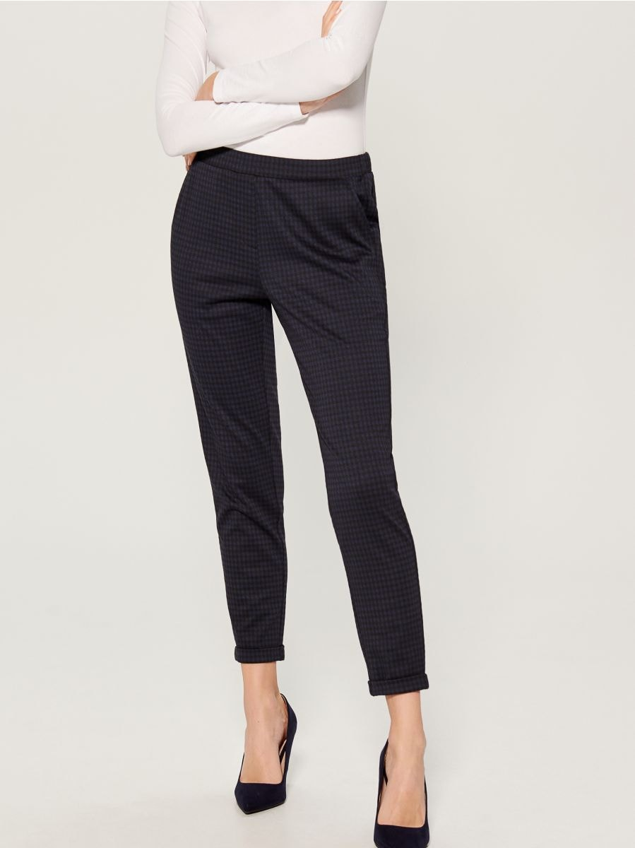 Jogger fit trousers - blue - VD959-95P - Mohito - 2