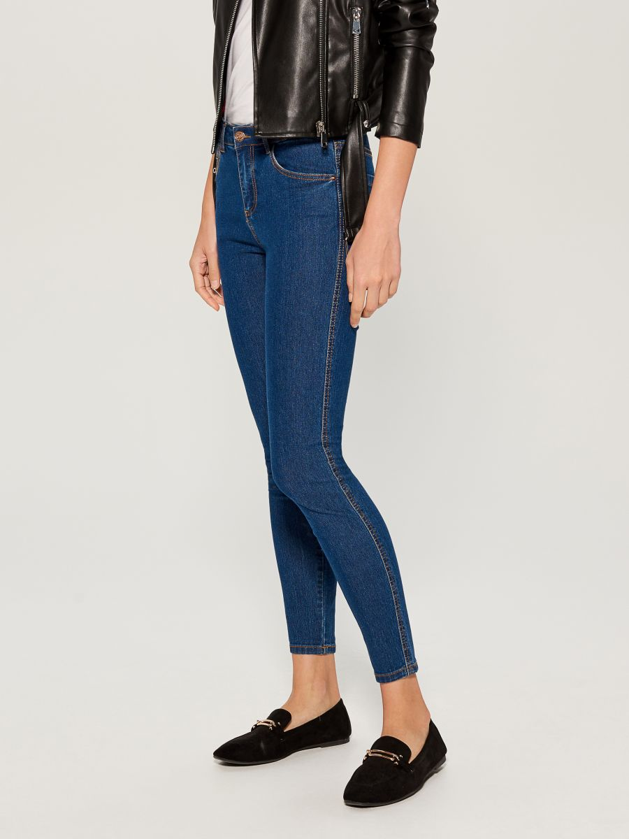 Skinny fit jeans - blue - VG326-55J - Mohito - 2