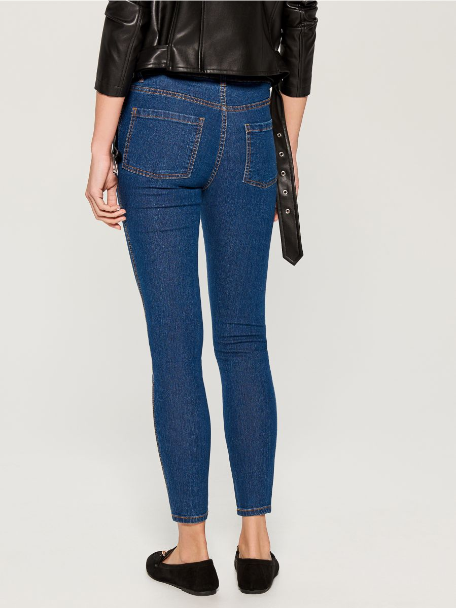 Skinny fit jeans - blue - VG326-55J - Mohito - 4