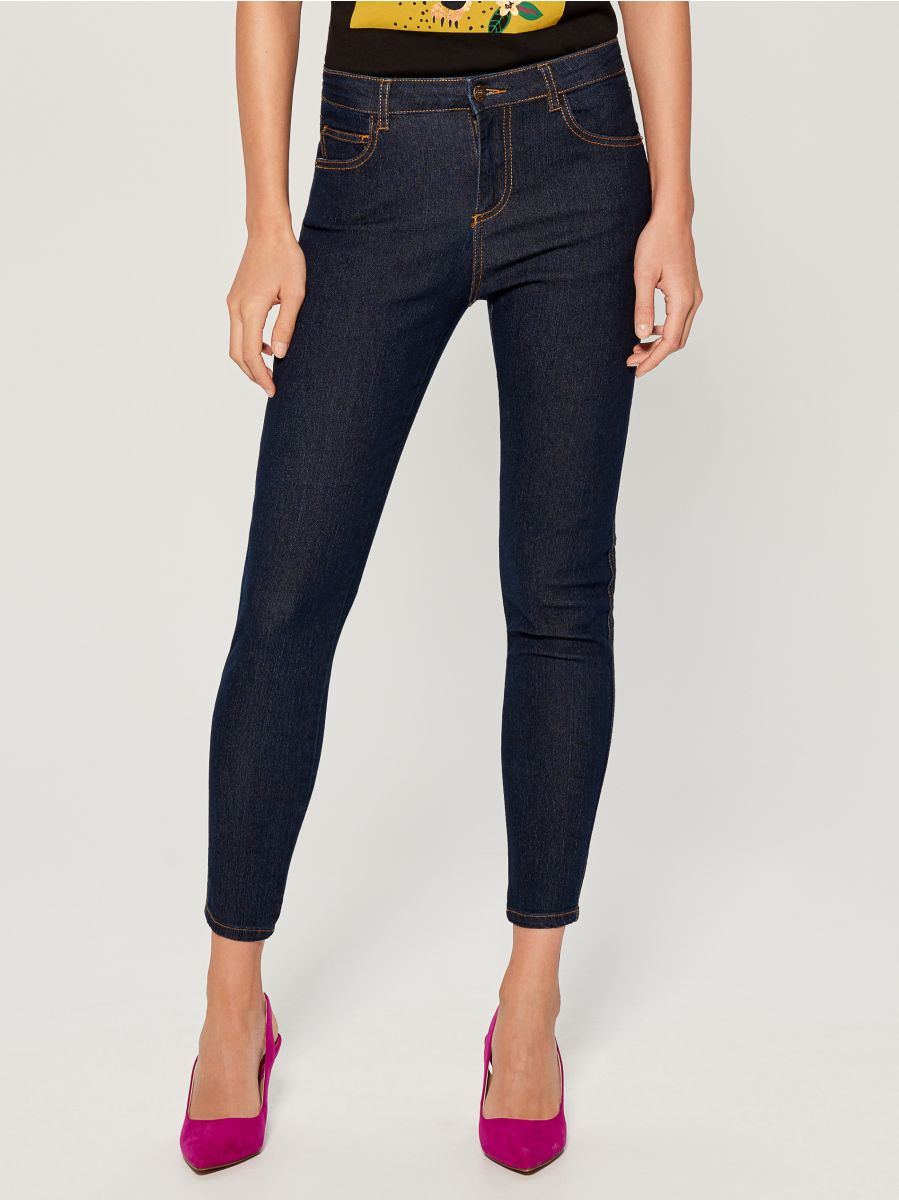 Skinny fit jeans - navy - VG326-59J - Mohito - 1