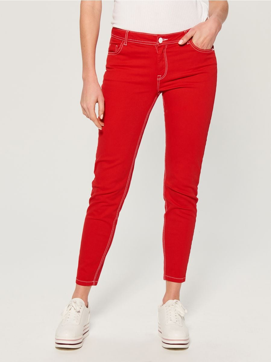 Skinny fit jeans - red - VG900-33J - Mohito - 1
