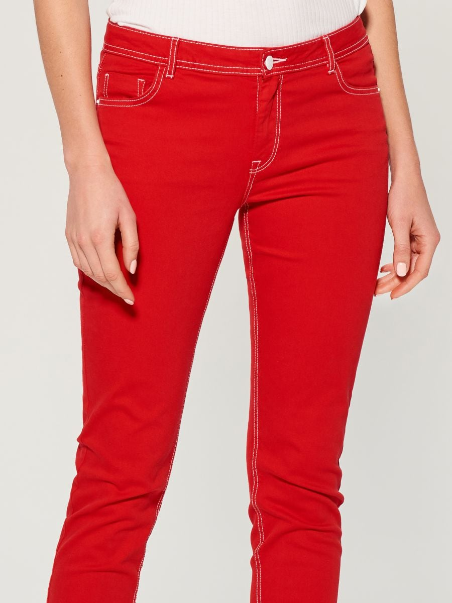 Skinny fit jeans - red - VG900-33J - Mohito - 3