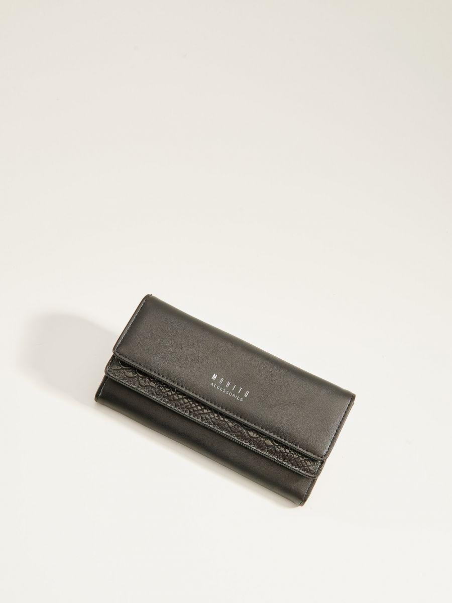 Snakeskin wallet - black - VL256-99X - Mohito - 1