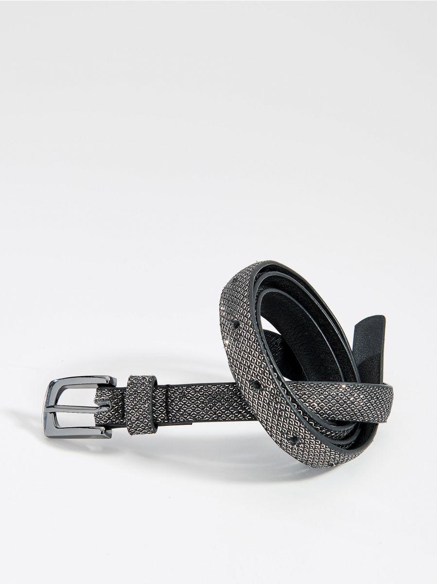 Structured belt - black - VS549-99X - Mohito - 1