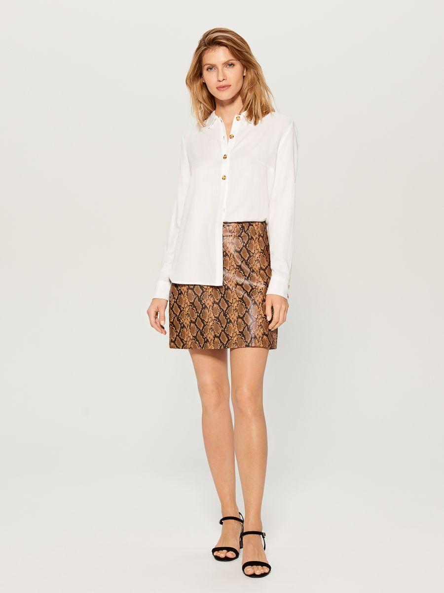 Classic shirt - white - VY493-00X - Mohito - 3