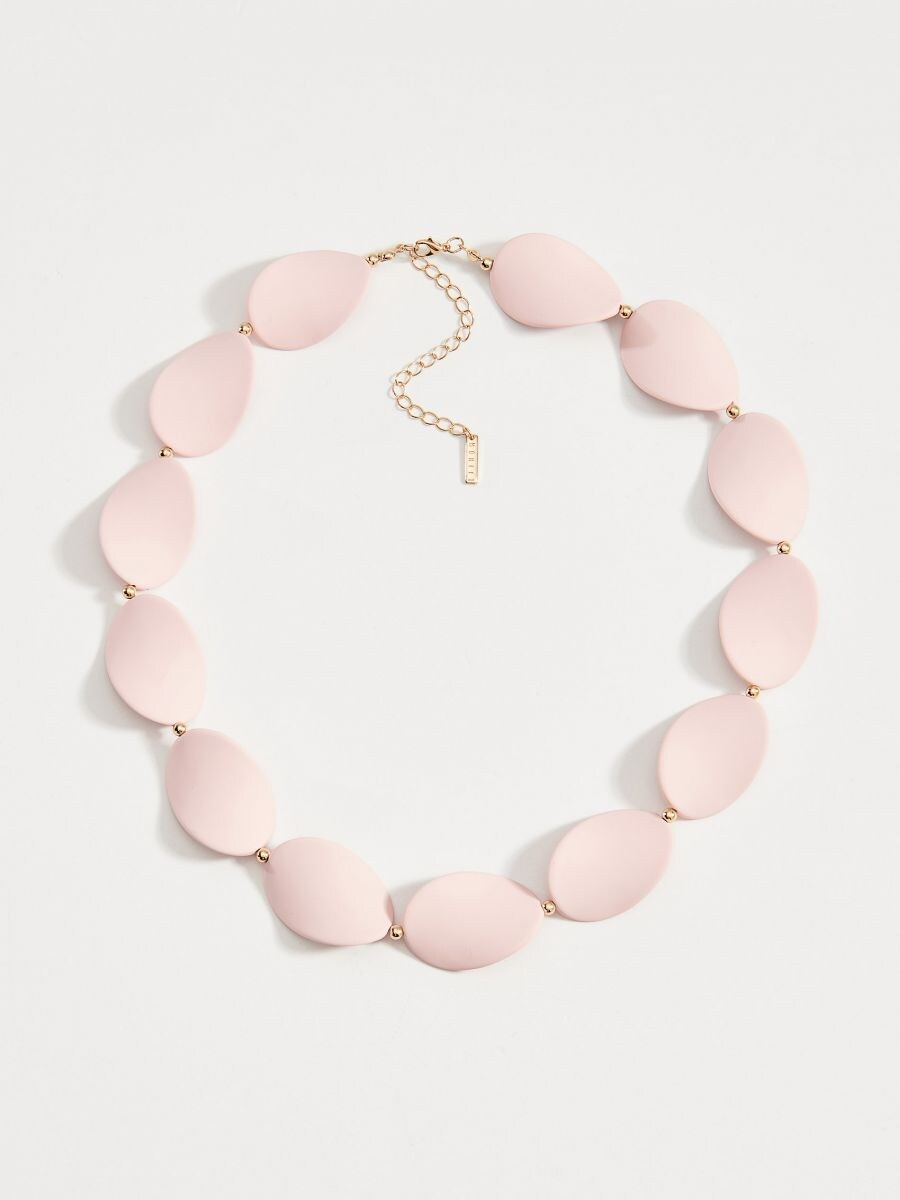 Short necklace - pink - WA583-03X - Mohito - 2