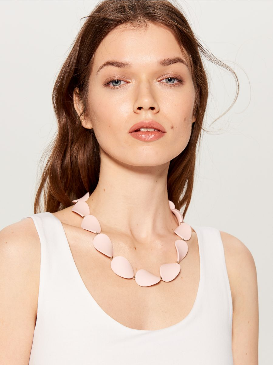 Short necklace - pink - WA583-03X - Mohito - 1
