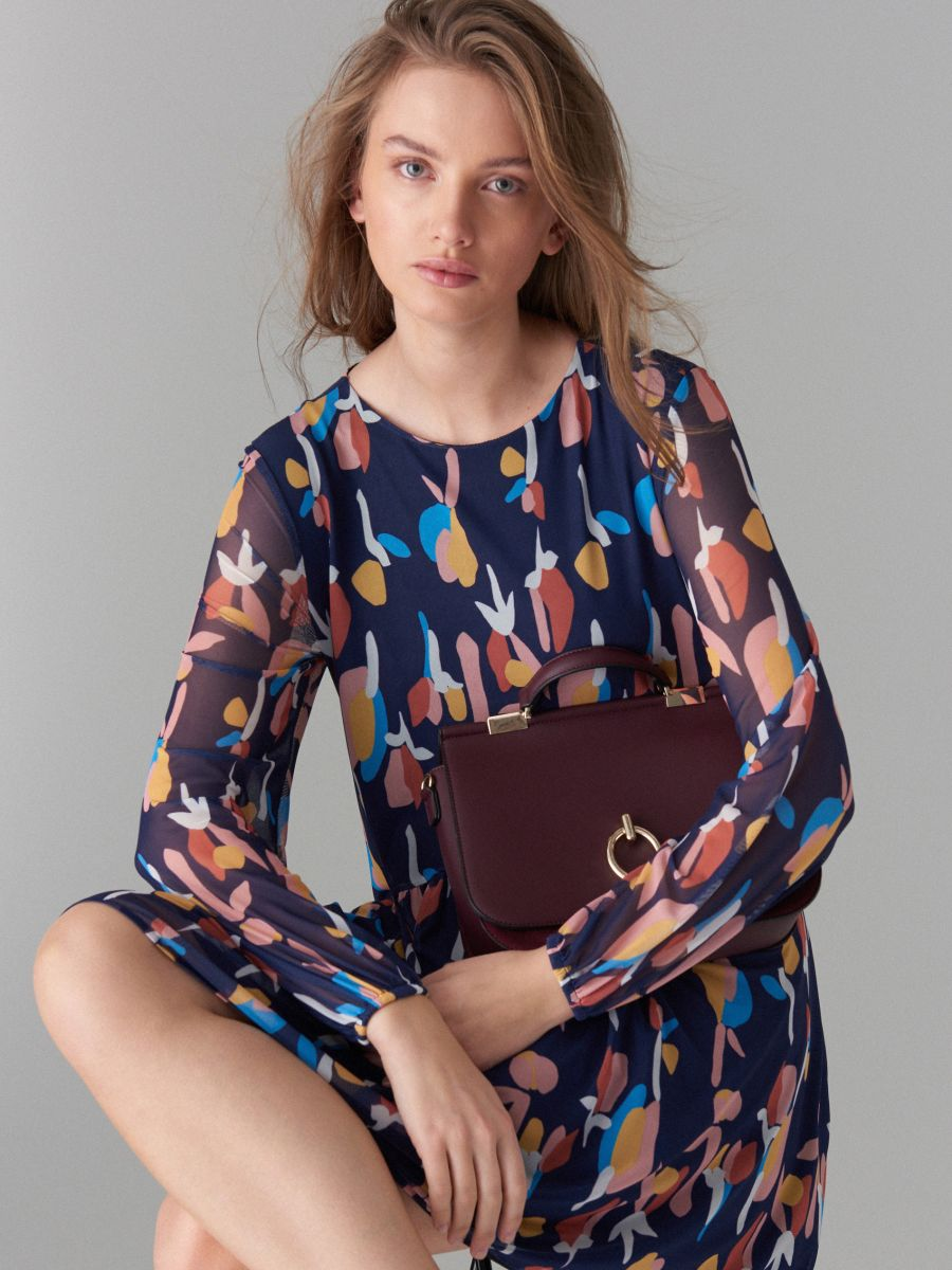 Art print dress - beige - WF482-48P - Mohito - 1