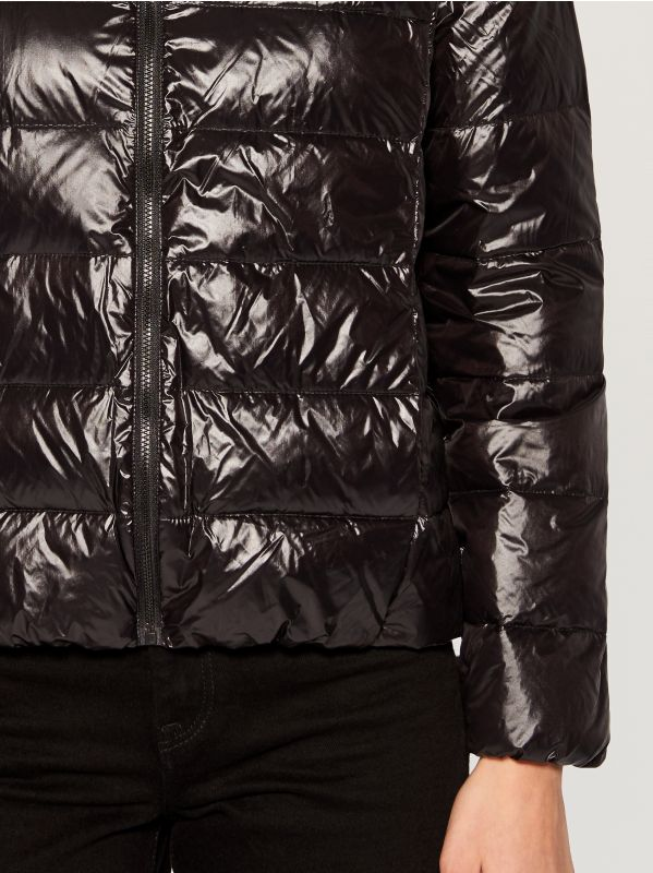 Down filled insulated jacket - black - UN249-99X - Mohito - 5