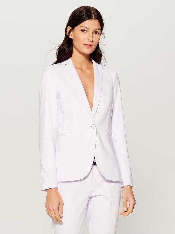 Classic jacket - white - UN364-00X - Mohito - 1