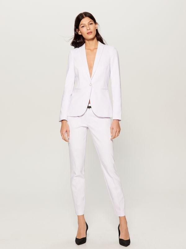 Classic jacket - white - UN364-00X - Mohito - 2