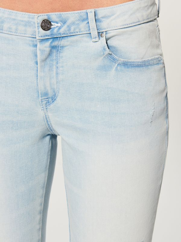 Skinny fit jeans - blue - UR495-05J - Mohito - 3
