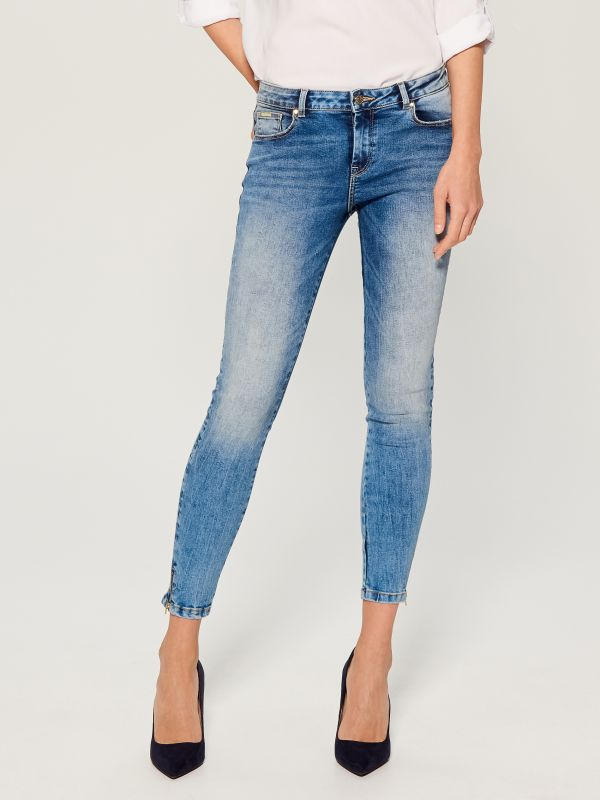 Skinny fit jeans - blue - UR495-50J - Mohito - 3