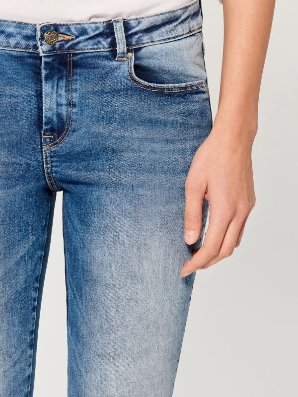 Skinny fit jeans - blue - UR495-50J - Mohito - 4