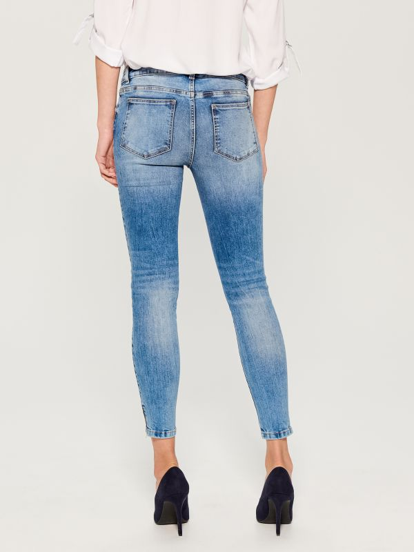 Skinny fit jeans - blue - UR495-50J - Mohito - 5