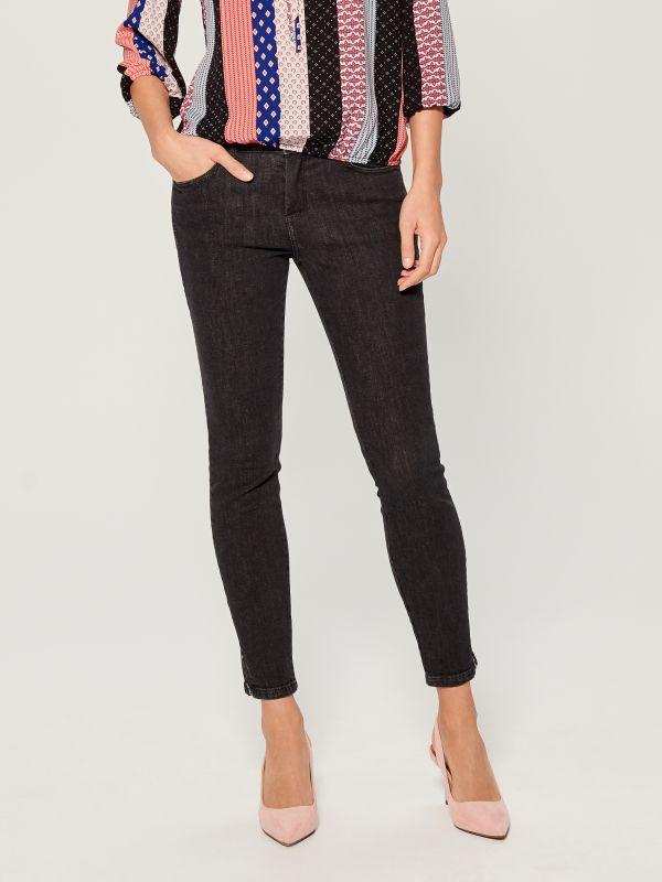 Skinny fit jeans - black - UR495-99X - Mohito - 2