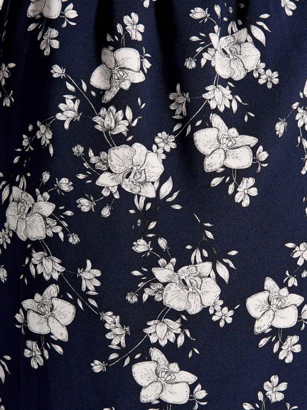Printed wrap dress - blue - VD246-95P - Mohito - 5