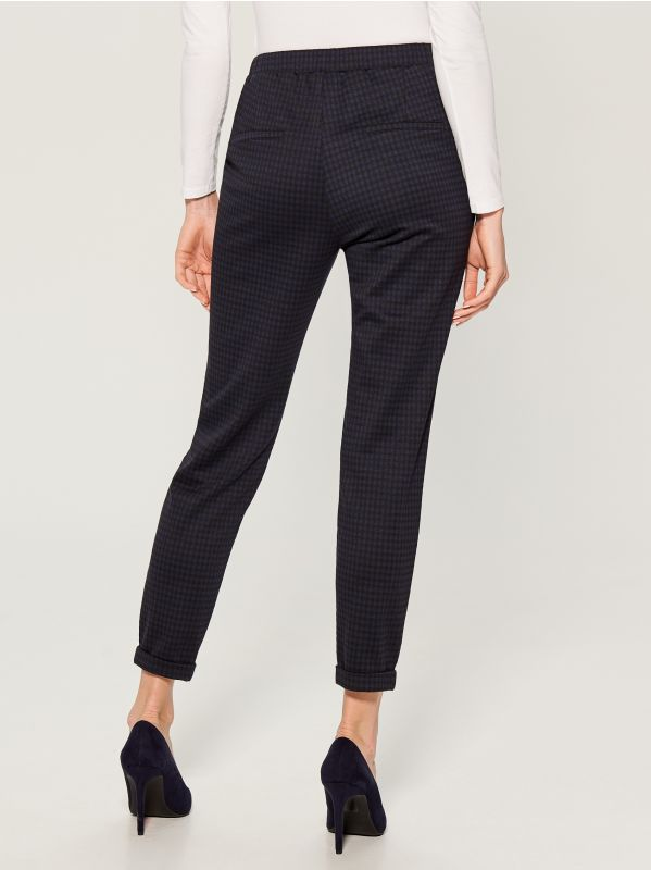 Jogger fit trousers - blue - VD959-95P - Mohito - 4