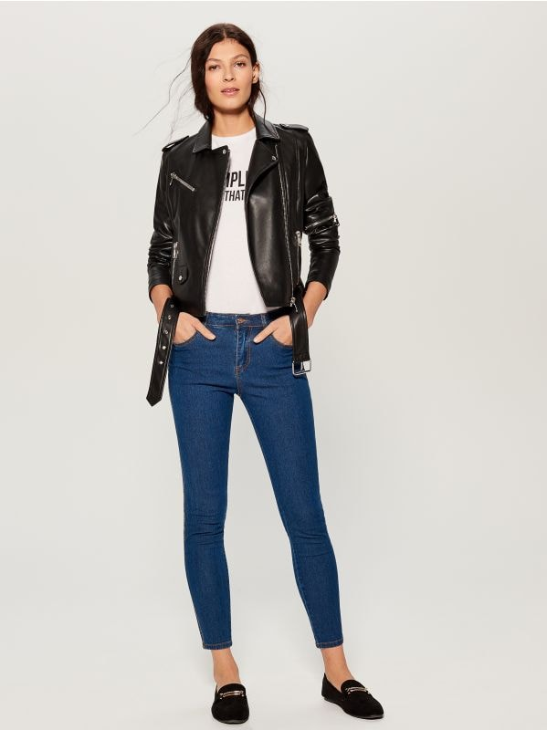Skinny fit jeans - blue - VG326-55J - Mohito - 1