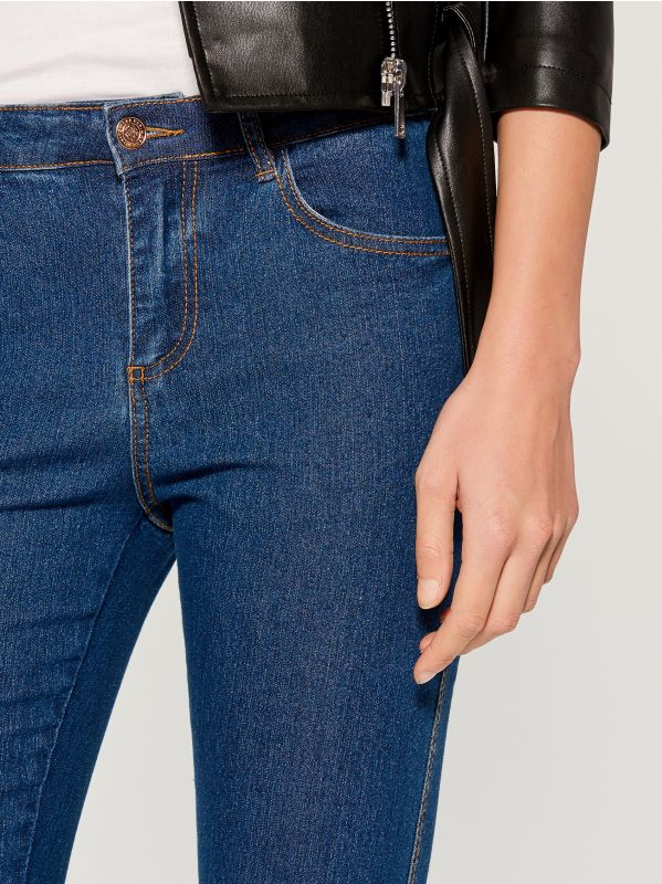 Skinny fit jeans - blue - VG326-55J - Mohito - 3