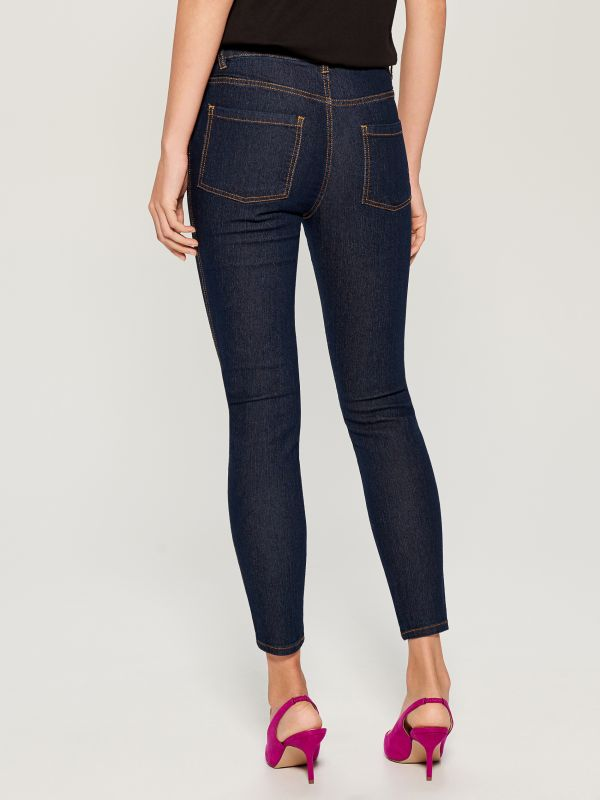 Skinny fit jeans - navy - VG326-59J - Mohito - 4