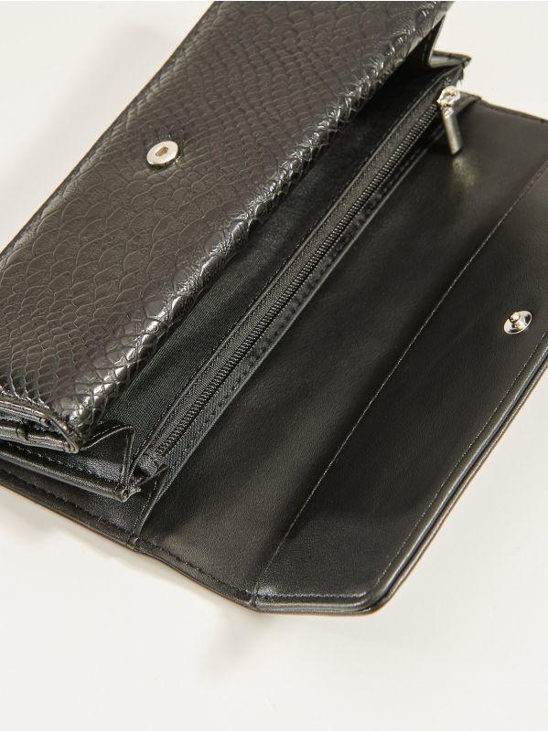 Snakeskin wallet - black - VL256-99X - Mohito - 2