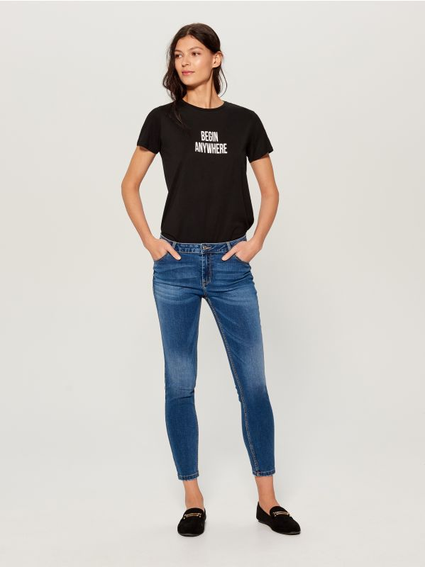 Skinny fit jeans - blue - VM145-55J - Mohito - 1