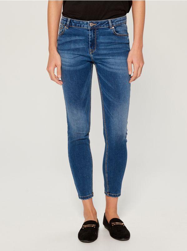 Skinny fit jeans - blue - VM145-55J - Mohito - 3