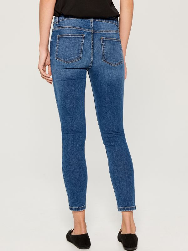 Skinny fit jeans - blue - VM145-55J - Mohito - 5