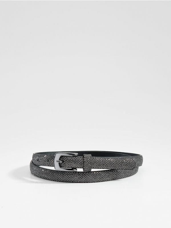 Structured belt - black - VS549-99X - Mohito - 2
