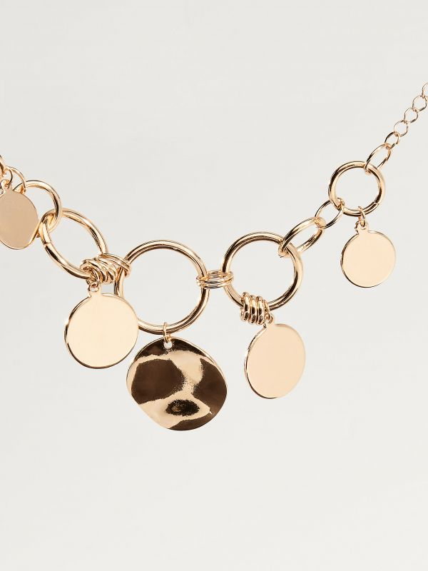 Bracelet with pendants - golden - VY369-GLD - Mohito - 2