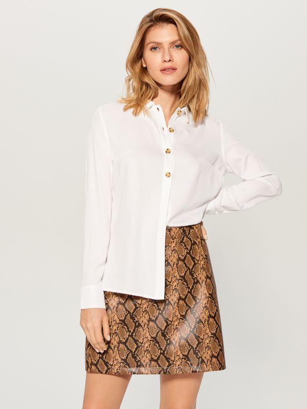 Classic shirt - white - VY493-00X - Mohito - 1