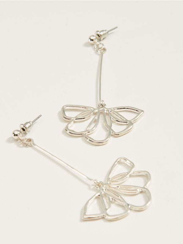 Drop earrings - silver - VY763-SLV - Mohito - 1