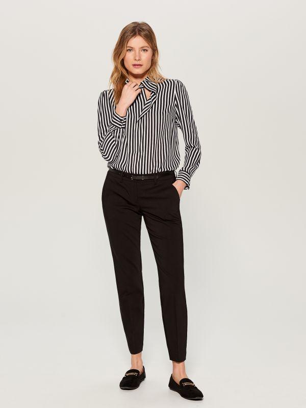 Striped shirt - black - WA845-99P - Mohito - 3