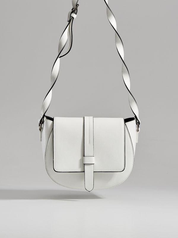 Long strap saddle bag  - white - WB130-00X - Mohito - 2