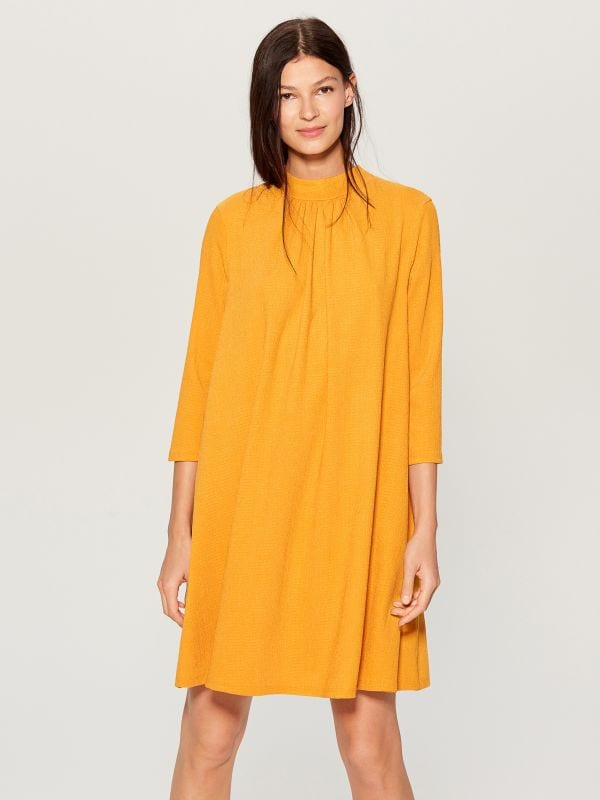 Dress with back tie - yellow - WE126-17X - Mohito - 1