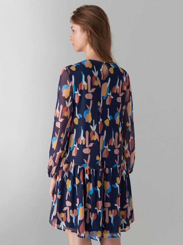 Art print dress - beige - WF482-48P - Mohito - 5