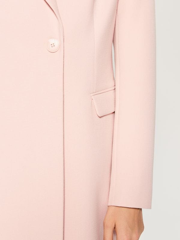 Single-breasted coat - pink - WH037-03X - Mohito - 5