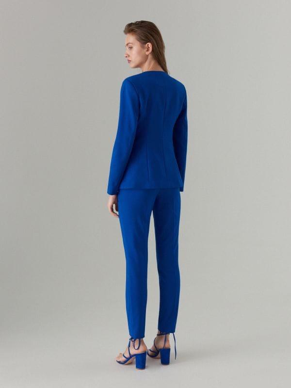 Pencil trousers - navy - WM784-59X - Mohito - 4