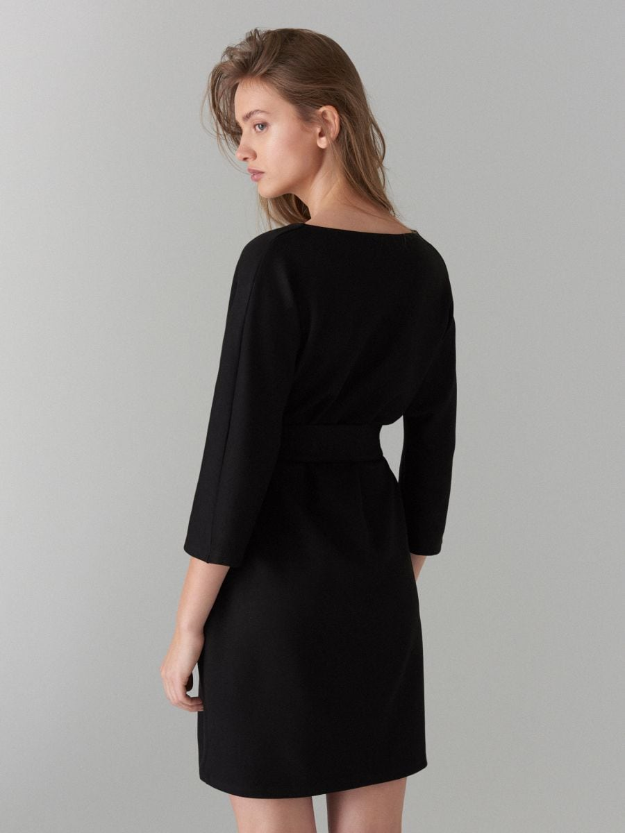Платье-кимоно - черный - WB308-99X - Mohito - 5