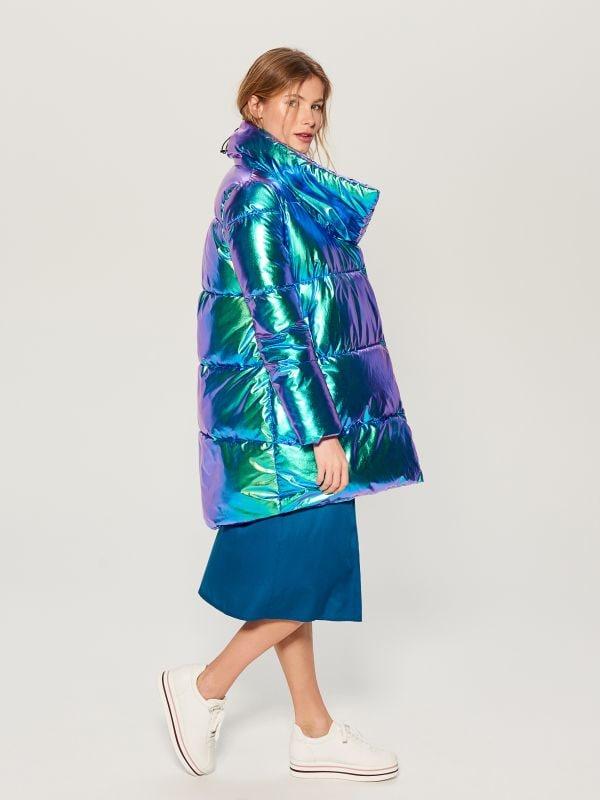 Стеганая куртка металлик - многоцветный - VQ977-MLC - Mohito - 1