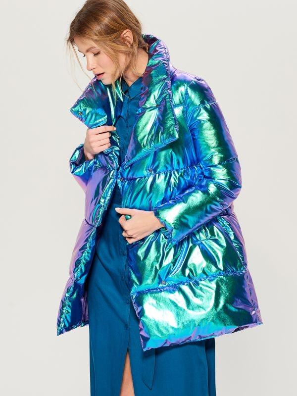 Стеганая куртка металлик - многоцветный - VQ977-MLC - Mohito - 2