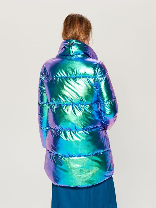 Стеганая куртка металлик - многоцветный - VQ977-MLC - Mohito - 5