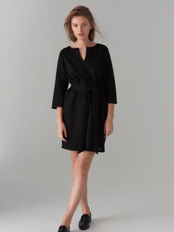 Платье-кимоно - Черный - WB308-99X - Mohito - 1