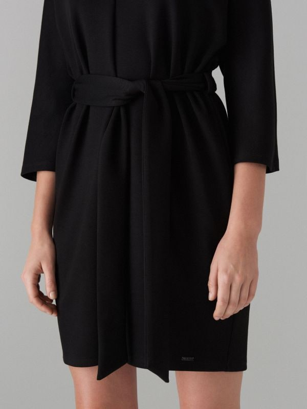 Платье-кимоно - черный - WB308-99X - Mohito - 4
